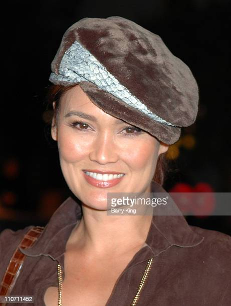 Tia Carrere during Year of the Dog Los Angeles Premiere Arrivals at The Paramount Pictures Theater in Los Angeles California United States
