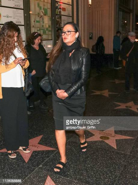 Tia Carrere is seen on February 27 2019 in Los Angeles California