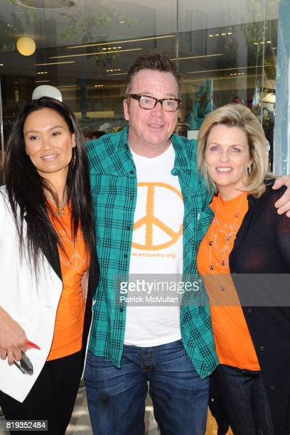 Tia Carrere Tom Arnold and Nancy Davis attend Race To Erase MS Kicks Off May As Multiple Sclerosis Awareness Month With A Fundraiser At Kitson...
