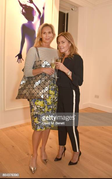 Tia Graham and guest attend as Rob and Nick Carter present their inaugural exhibition 'Yoga Photograms' at their new artist space RN at 5A Paddington...