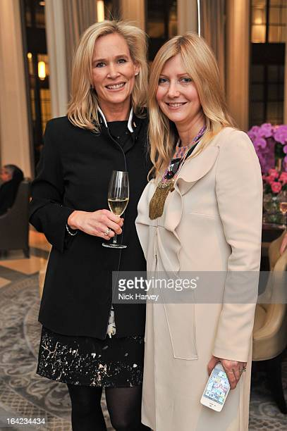 Tia Graham and Sigrid Wilkinson attend the the VIP preview of the 'Above Beyond' series of unique theatrical performances at Corinthia Hotel London...