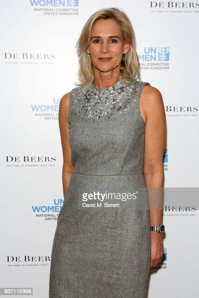 Tia Graham attends a cocktail reception hosted by De Beers to celebrate their partnership with UN Women at De Beers Old Bond Street Boutique on March...