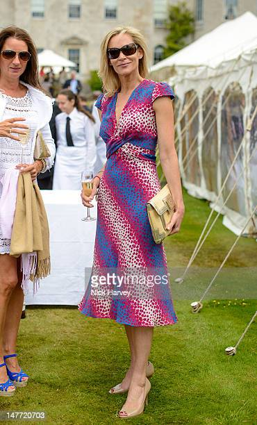 Tia Graham attends Cartier Style Luxe Lunch Reception at Goodwood Festival of Speed at Goodwood on July 1 2012 in Chichester England