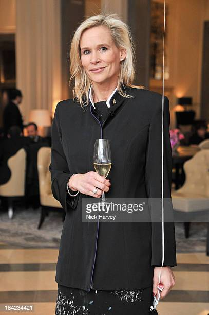 Tia Graham attends the the VIP preview of the 'Above Beyond' series of unique theatrical performances at Corinthia Hotel London on March 21 2013 in...