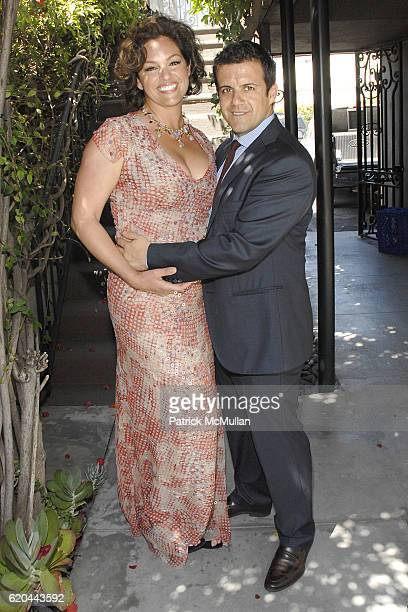 Tia Hoberman and Amedeo Scognamiglio attend CAROLINA HERRERA New York Preview Of The Jewelry Collection Designed for Carolina Herrera at Carolina...