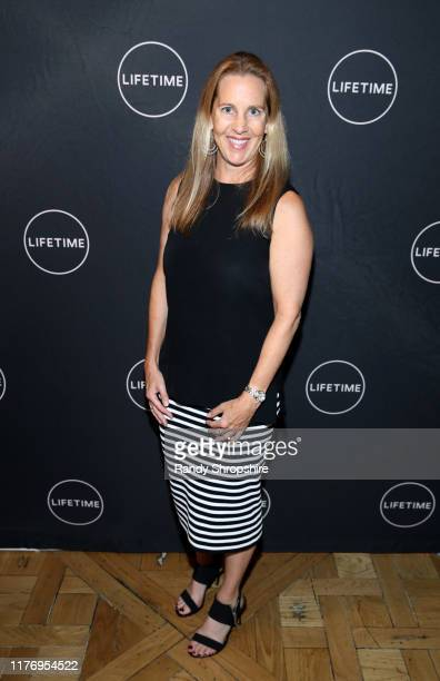 "Tia Maggini attends a special screening of ""Trapped The Alex Cooper Story"" hosted by Lifetime in Partnership with The Trevor Project PFLAG and The..."
