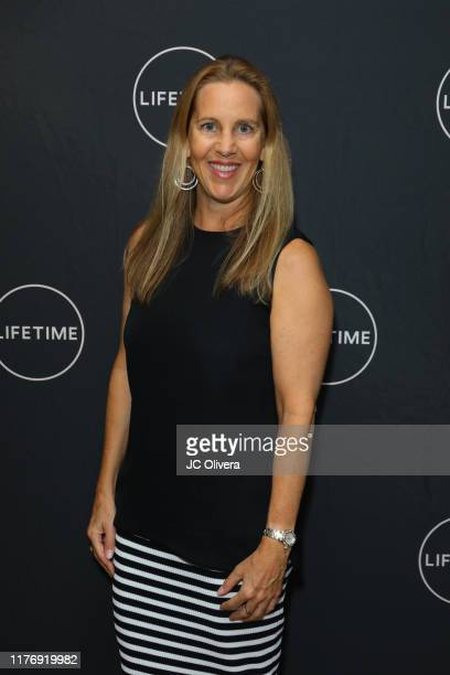 Tia Maggini attends the Lifetime Original Movie 'Trapped The Alex Cooper Story' premiere at The London West Hollywood on September 24 2019 in West...