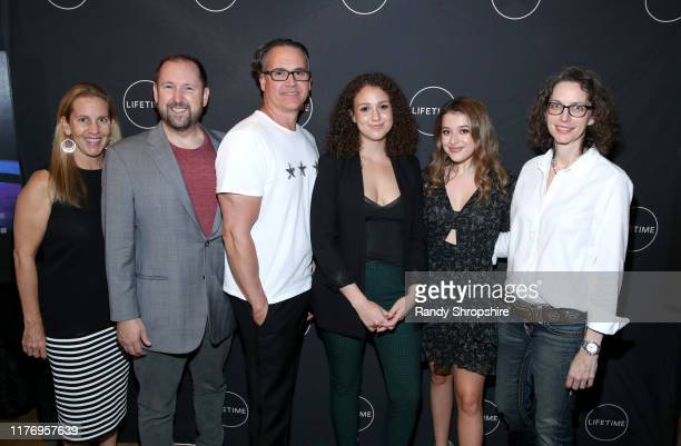 "Tia Maggini Paul C Burke Jeffrey Hunt Alex Cooper Addison Holley and Michelle Paradise attend a special screening of ""Trapped The Alex Cooper Story""..."