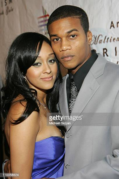 Tia Mowry and Cory Hadrict during The 11th Annual Multicultural PRISM Awards at Sheraton Universal in Los Angeles, California, United States.