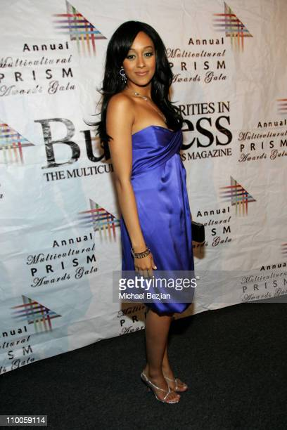 Tia Mowry during The 11th Annual Multicultural PRISM Awards at Sheraton Universal in Los Angeles, California, United States.