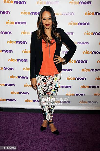 Tia MowryHardrict attends the NickMom Panel Discussion at the Viacom Building on September 25 2013 in New York City