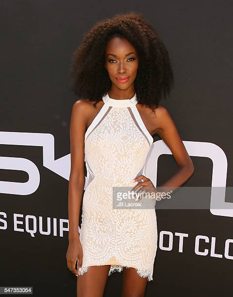 Tia Shipman attends the Greg Louganis' PreESPY Awards Wheaties Breakfast for Champions at the Starving Artists Project on July 13 2016 in Los Angeles...