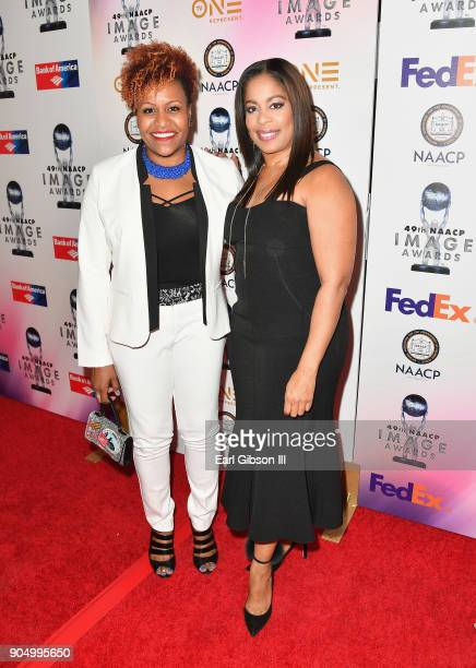 Tia Smith at the 49th NAACP Image Awards NonTelevised Awards Dinner at the Pasadena Conference Center on January 14 2018 in Pasadena California