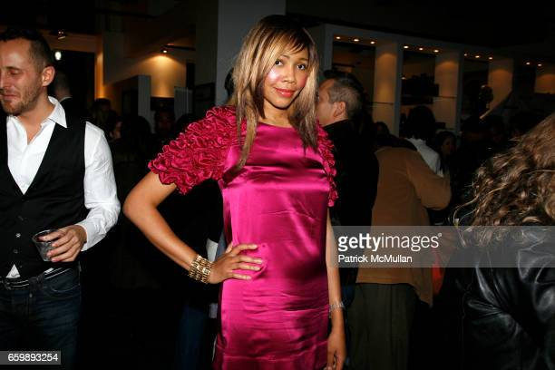 Tia Walker attends 7th Annual BoCONCEPT/KOLDESIGN Holiday Party at Bo Concept Madison Ave on December 15 2009 in New York