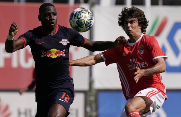 PRT: SL Benfica v RB Leipzig - UEFA Youth League: Group G