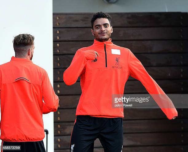 Tiago Ilori of Liverpool durring the first day back at Training in Melwood Training Ground on 1st July 2016 in Liverpool England
