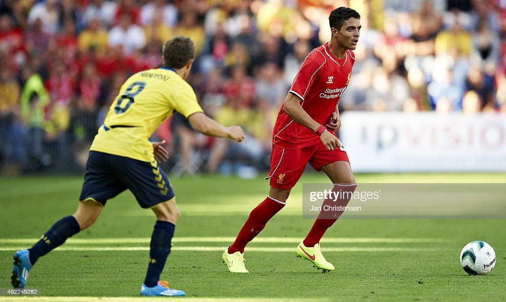 Brondby IF v Liverpool FC: Pre-Season Friendly : News Photo