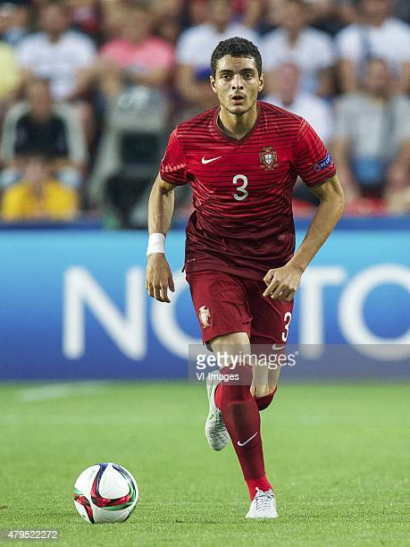 Tiago Ilori of Portugal during the UEFA European Under21 Championship final match between Sweden and Portugal on June 30 2015 at the Eden stadium in...