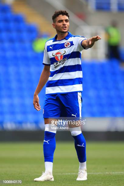 Tiago Ilori of Reading during the PreSeason Friendly between Reading and Crystal Palace at Madejski Stadium on July 28 2018 in Reading England