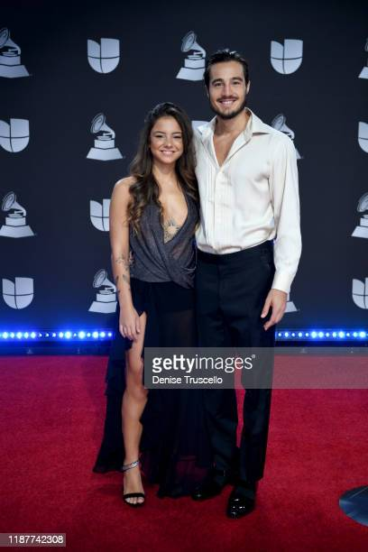 Tiago Iorc attends the 20th annual Latin GRAMMY Awards at MGM Grand Garden Arena on November 14 2019 in Las Vegas Nevada