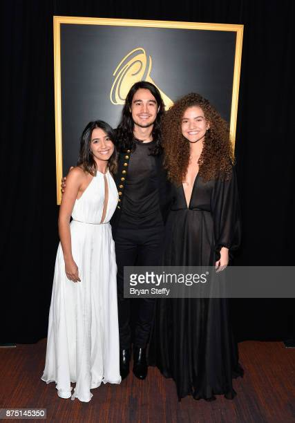Tiago Iorc poses in the press room during The 18th Annual Latin Grammy Awards at MGM Grand Garden Arena on November 16 2017 in Las Vegas Nevada