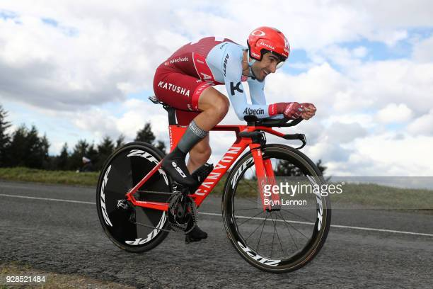 Tiago Machado of Portugal and Katusha-Alpecin during the 76th Paris - Nice 2018 / Stage 4 an Individual Time Trial of 18,4km from La Fouillouse to...