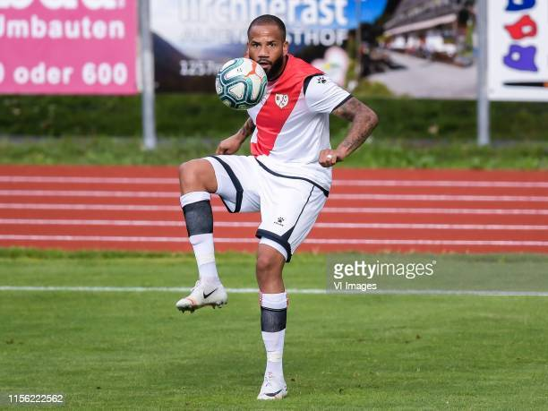 Tiago Manuel Dias Correia of Rayo Vallecano during the Preseason Friendly match between 1FSV Mainz 05 and Rayo Vallecano at Sportzentrum Worgl on...