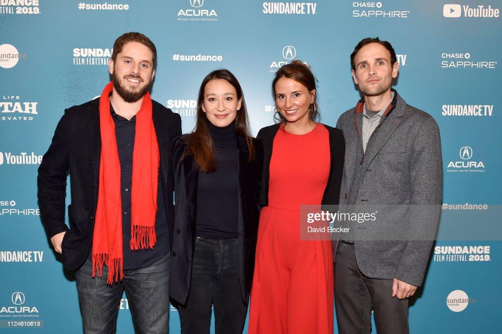 Tiago Pavan, Joanna Natasegara, Petra Costa, and Shane Boris