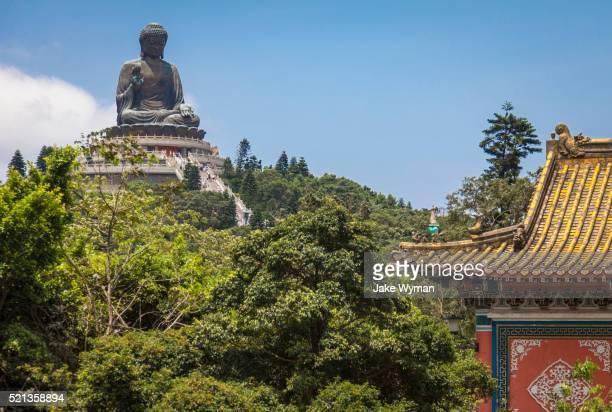Tian Tan Buddha on Lantau Island, Hong Kong.