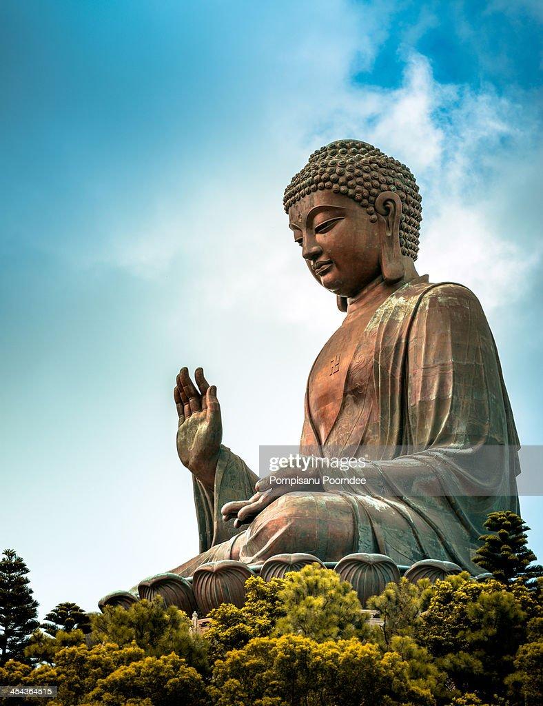Tian Tan Buddha : Stock Photo