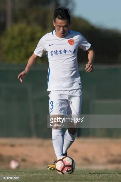 Tian Yinong during the friendly match between Royal Charleroi SC vsYanbian Funde FC at Pinatar Arena Murcia SPAIN 10th January of 2018