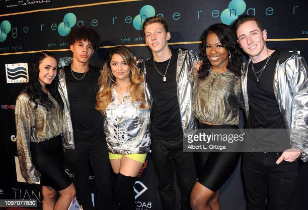 Tiana Kocher and dancers attend the 5th Annual The Soiree During GRAMMY Weekend held at The Roxy Theatre on February 9 2019 in West Hollywood...