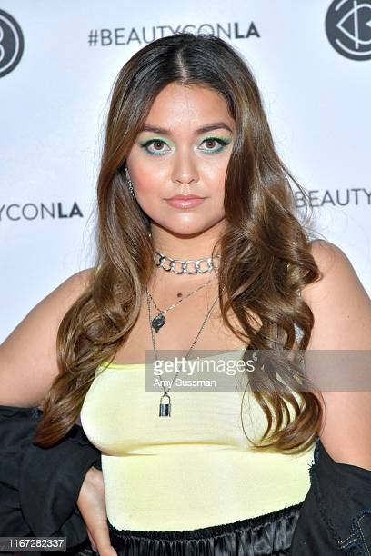 Tiana Kocher attends Beautycon Festival Los Angeles 2019 at Los Angeles Convention Center on August 10 2019 in Los Angeles California