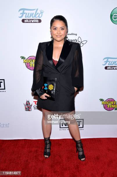 Tiana Kocher attends the 4th annual Holiday Gala to benefit Children's Hospital Los Angeles at The Study on December 18 2019 in Hollywood California
