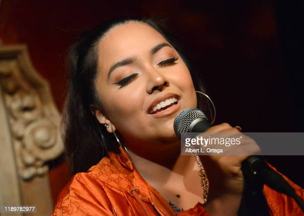 Tiana Kocher performs at the 10th Annual Hollywood Music In Media Awards After Party held at Avalon Hollywood on November 20 2019 in Los Angeles...
