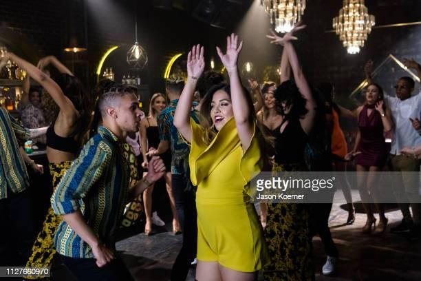Tiana Kocher Por Tiempo Featuring J Alvarez Music Video Shoot on February 26 2019 in Miami Florida