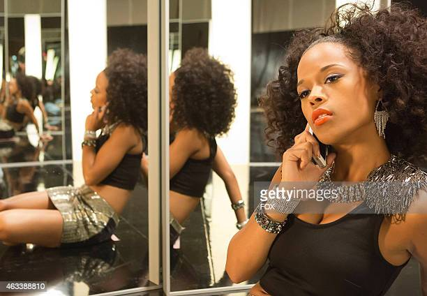 Tiana takes a break from shooting a music video in the 'Dangerous Bonds' episode of EMPIRE airing Wednesday Feb 4 2015 on FOX