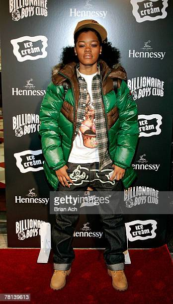 Tiana Taylor at the Billionaire Boys Club / Ice Cream Flagship Store Opening on November 28 in New York City.
