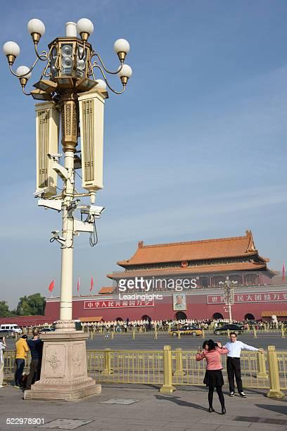 天安門広場や紫禁城 - 天安門広場 ストックフォトと画像