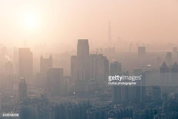 Tianjin air polution