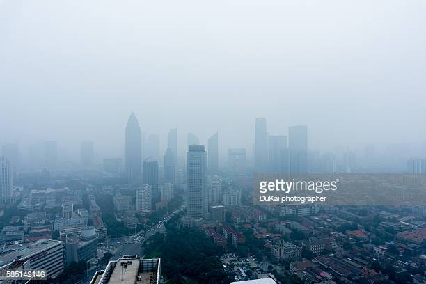 tianjin air polution - carbon dioxide stock pictures, royalty-free photos & images