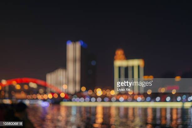 tianjin haihe skyline - liyao xie stock pictures, royalty-free photos & images