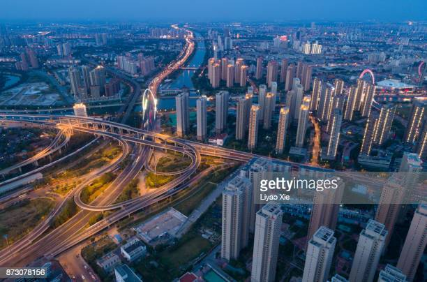 tianjin residential - liyao xie stock pictures, royalty-free photos & images
