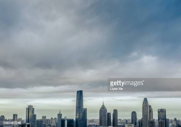 tianjin skyline - liyao xie bildbanksfoton och bilder