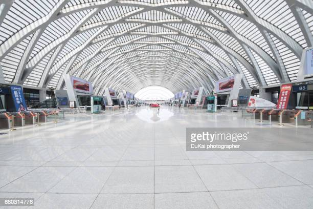 tianjin west railway station - railway station stock pictures, royalty-free photos & images