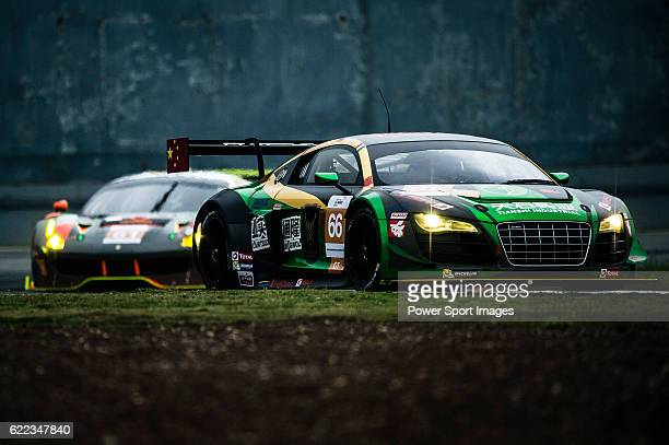 TianShi Racing Team #66 Audi R8 Ultra GT3 driven by Peng Liu Wiser Massimilano and Christopher Haase in action during the Free Practice 1 of the...