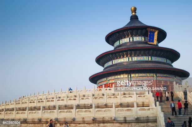 Tiantan or Temple of Heaven , Beijing China