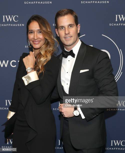 Tiany Kiriloff and IWC Schaffhausen CEO Christoph GraingerHerr attend the IWC Schaffhausen Gala celebrating the Maison's 150th anniversary and the...