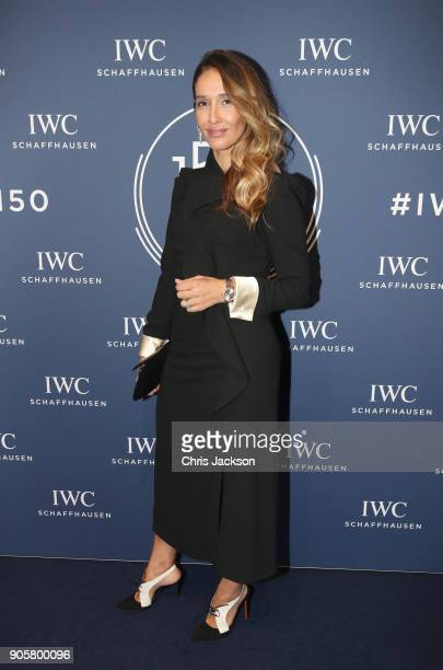 Tiany Kiriloff attends the IWC Schaffhausen Gala celebrating the Maison's 150th anniversary and the launch of its Jubilee Collection at the Salon...