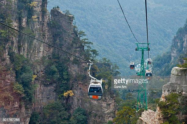 Tianzi Mountain provides stunning views of peaks, which rise one after another. It is known as 'the Monarch of the Peak Forest'. At the top of the...